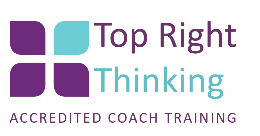 top right thinking, accredited coach training
